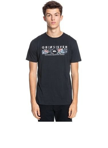 Quiksilver Dıstant Shores Ss T-Shirt Eqyzt06323 Siyah